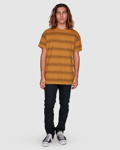 7 TUCKER STRIPE TEE Yellow 9592050M Billabong
