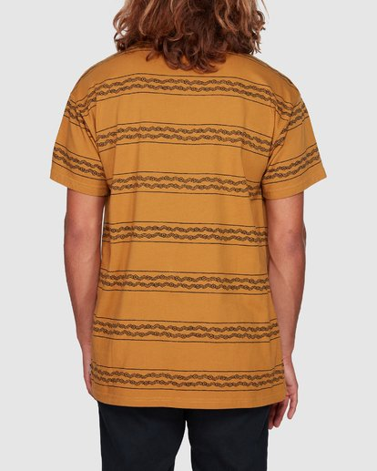3 TUCKER STRIPE TEE Yellow 9592050M Billabong