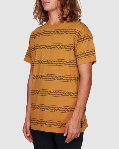 2 TUCKER STRIPE TEE Yellow 9592050M Billabong