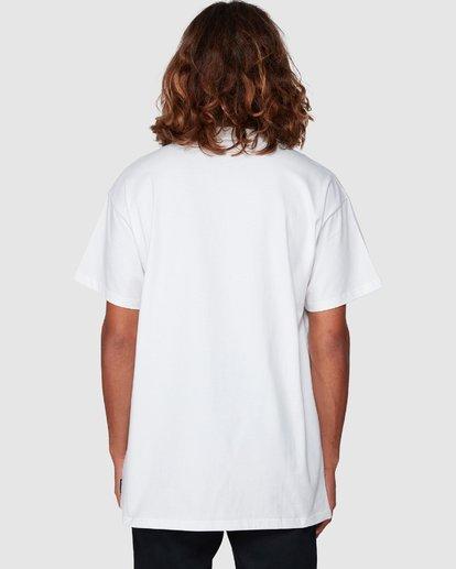 4 PEACE AND LOVE TEE White 9592053M Billabong