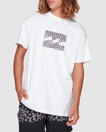 0 Peace And Love Tee White 9592053M Billabong