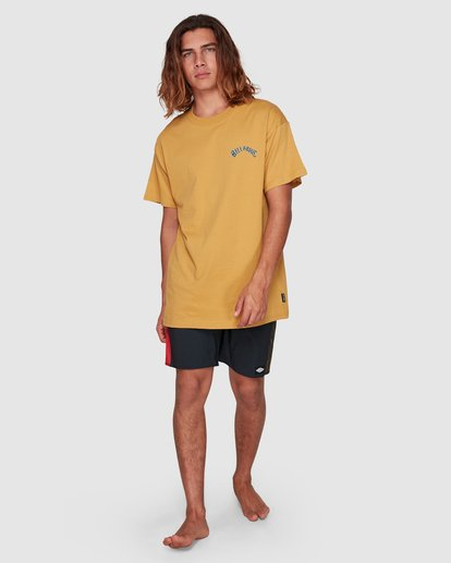 8 Serpent Arch Tee Yellow 9592055M Billabong
