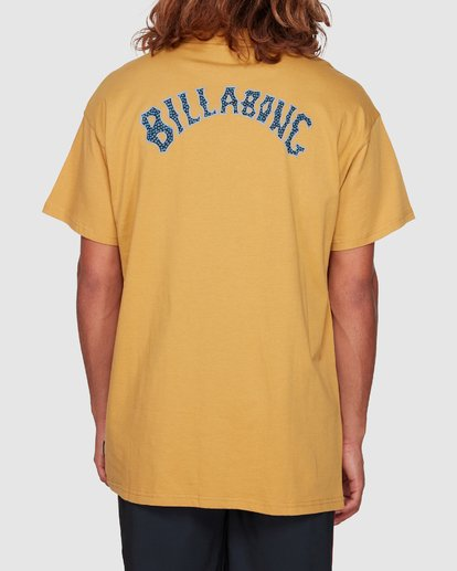 3 Serpent Arch Tee Yellow 9592055M Billabong