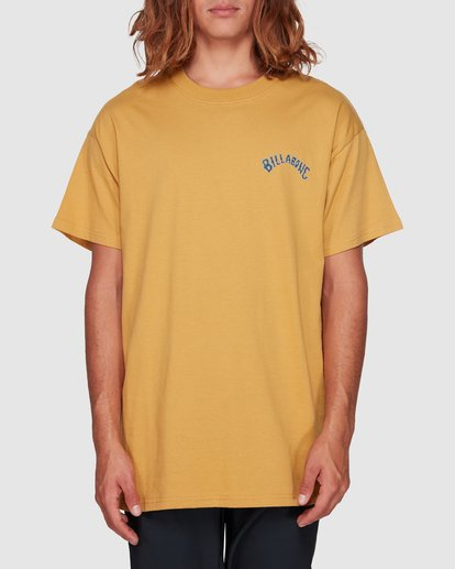 0 Serpent Arch Tee Yellow 9592055M Billabong
