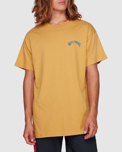 1 Serpent Arch Tee Yellow 9592055M Billabong