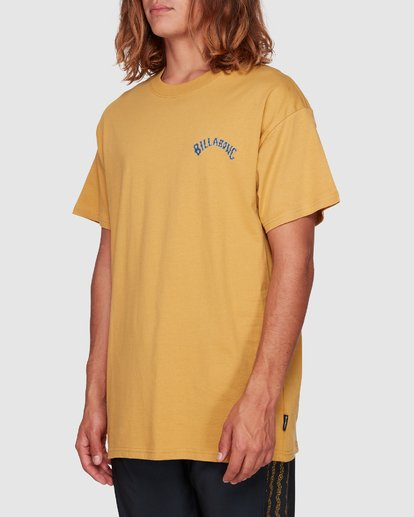 2 Serpent Arch Tee Yellow 9592055M Billabong
