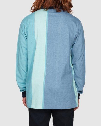 3 Hux Long Sleeve Polo Blue 9592151M Billabong