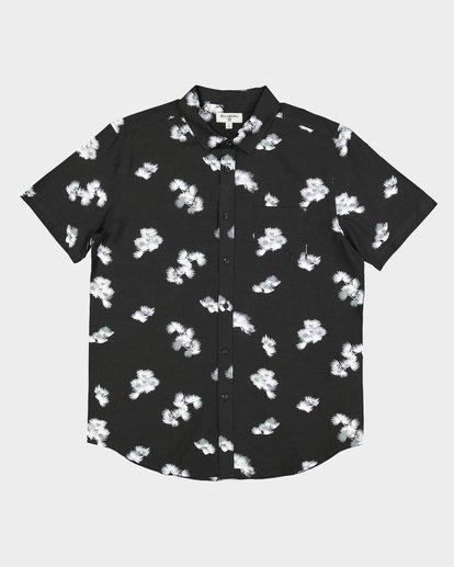 3 Sundays Floral Rayon Shirt Black 9592202 Billabong