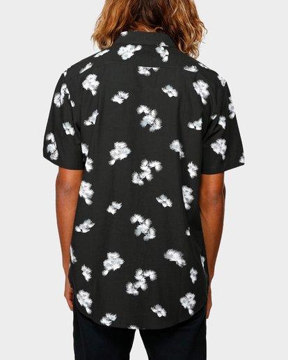 2 Sundays Floral Rayon Shirt Black 9592202 Billabong