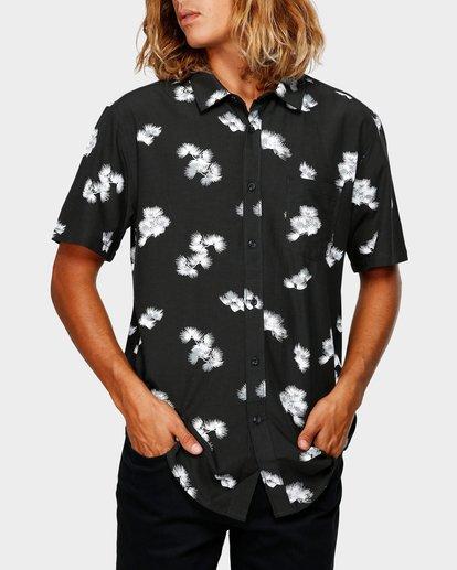 0 Sundays Floral Rayon Shirt Black 9592202 Billabong