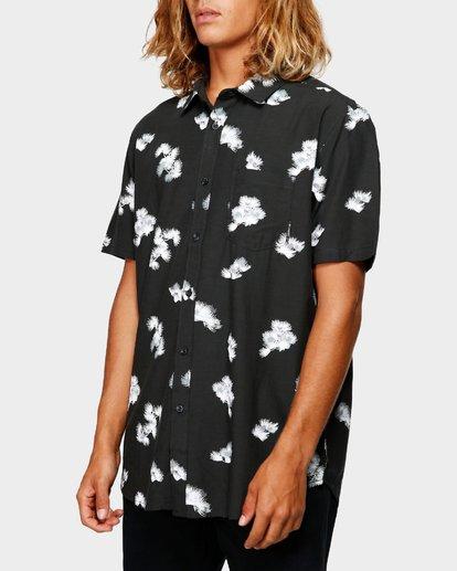 1 Sundays Floral Rayon Shirt Black 9592202 Billabong