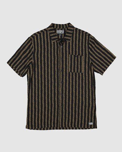 6 Tucker Vert Short Sleeve Shirt Black 9592220M Billabong