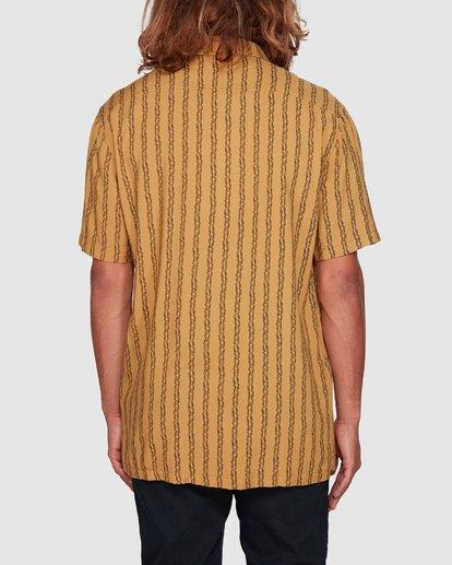 3 Tucker Vert Short Sleeve Shirt Yellow 9592220M Billabong