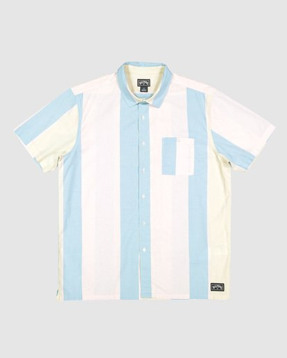 5 Hux Short Sleeve Shirt Pink 9592240M Billabong