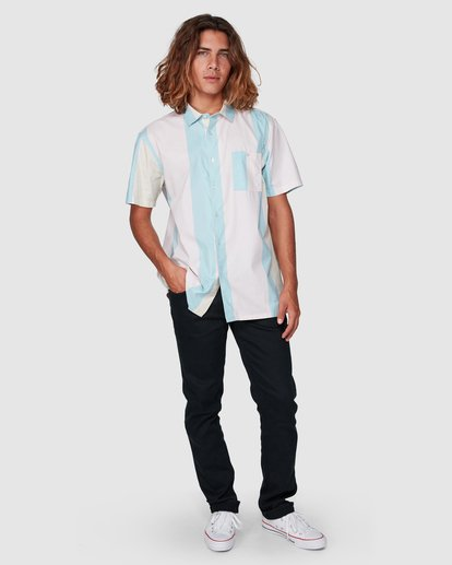6 Hux Short Sleeve Shirt Pink 9592240M Billabong