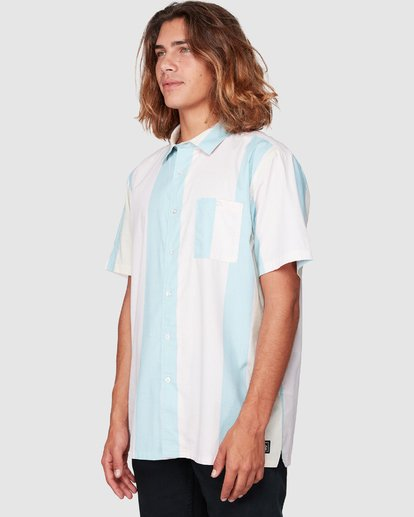 2 HUX SHORT SLEEVE SHIRT Pink 9592240M Billabong