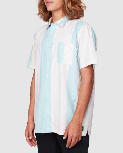 1 Hux Short Sleeve Shirt Pink 9592240M Billabong