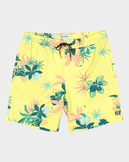 1 Sundays Layback Boardshorts Yellow 9592419 Billabong