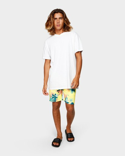 6 Sundays Layback Boardshorts Yellow 9592419 Billabong