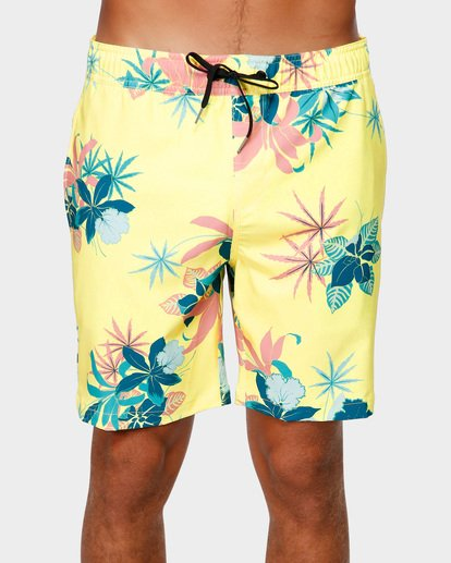3 Sundays Layback Boardshorts Yellow 9592419 Billabong