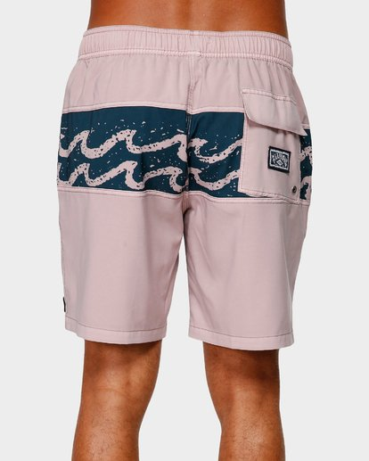 4 TRIBONG LAYBACK BOARDSHORTS Purple 9592421 Billabong