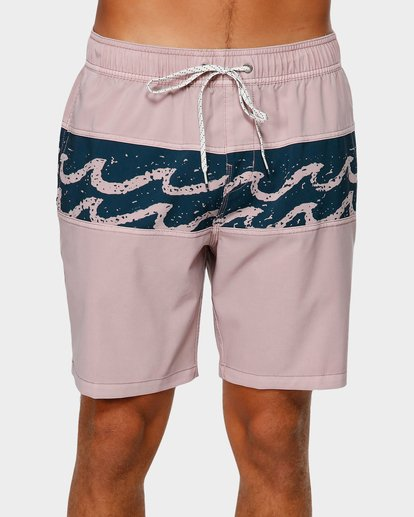 2 TRIBONG LAYBACK BOARDSHORTS Purple 9592421 Billabong