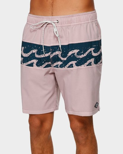 3 TRIBONG LAYBACK BOARDSHORTS Purple 9592421 Billabong