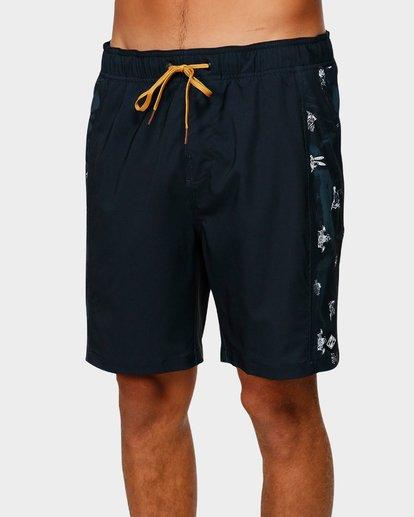 3 D Bah Layback Boardshorts Black 9592423 Billabong