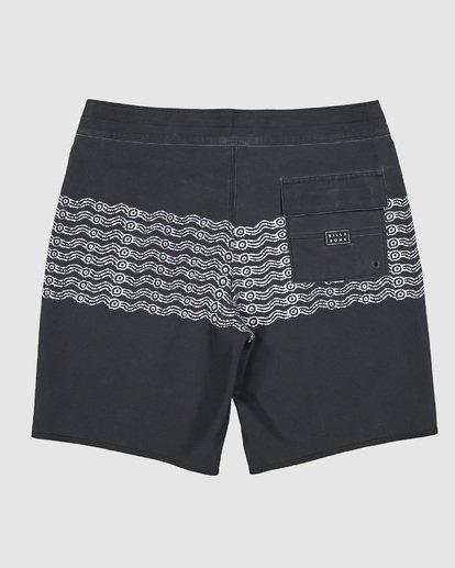 1 Wawaa Stripe Pro Boardshorts Black 9592491M Billabong