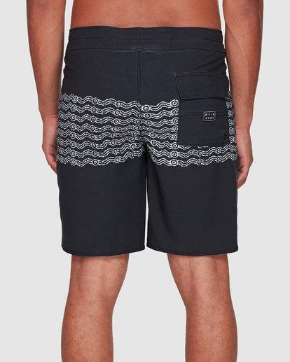 4 Wawaa Stripe Pro Boardshorts Black 9592491M Billabong