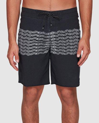 2 Wawaa Stripe Pro Boardshorts Black 9592491M Billabong