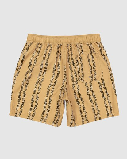 1 Tucker Vert Layback Boardshorts Yellow 9592495M Billabong