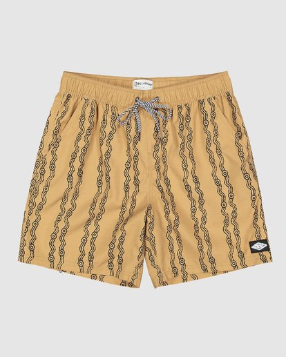 0 Tucker Vert Layback Boardshorts Yellow 9592495M Billabong