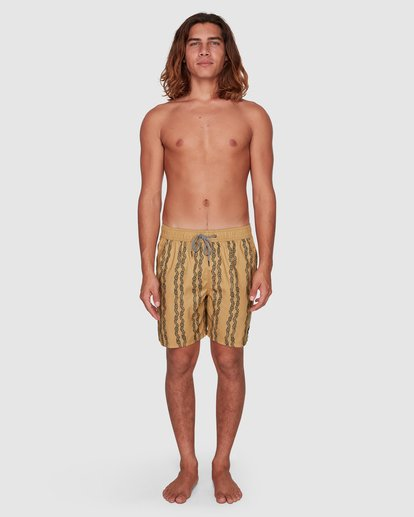 6 Tucker Vert Layback Boardshorts Yellow 9592495M Billabong