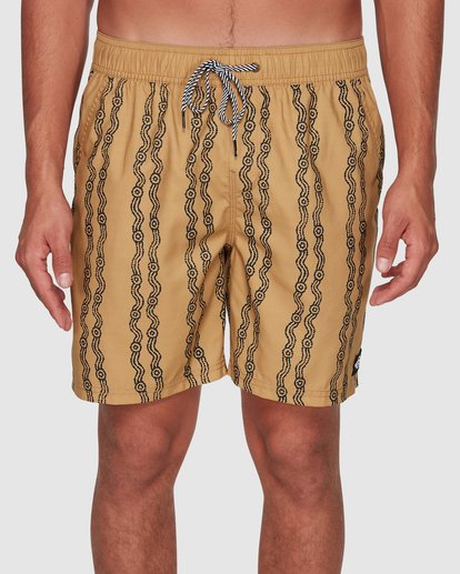 2 Tucker Vert Layback Boardshorts Yellow 9592495M Billabong