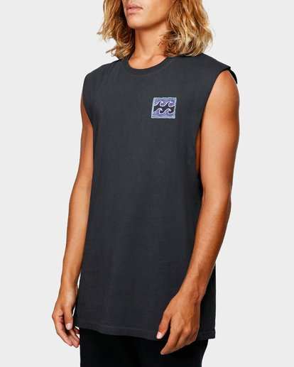 1 Full Froth Muscle Tee Black 9592505 Billabong