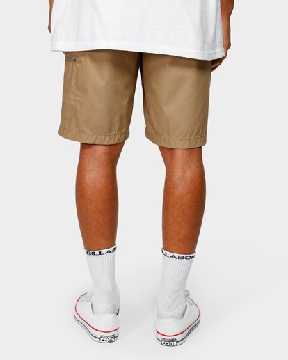 10 SURFTREK CARGO WALKSHORTS Grey 9592730 Billabong