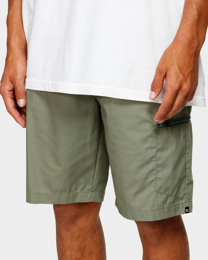 6 Surftrek Cargo Shorts Camo 9592730 Billabong