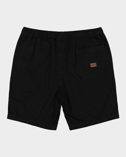 1 Larry Layback Twill Shorts Black 9592733 Billabong