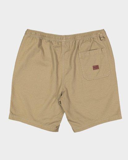 1 Larry Layback Twill Shorts Grey 9592733 Billabong
