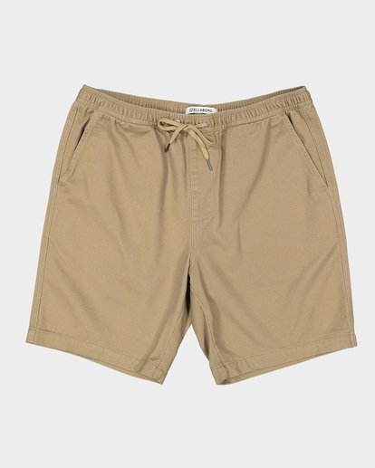 0 Larry Layback Twill Shorts Grey 9592733 Billabong