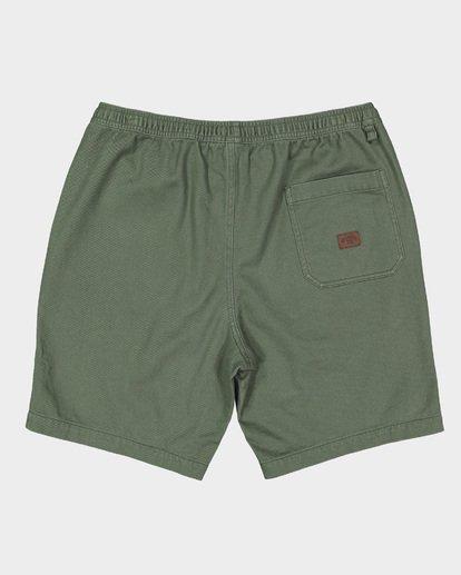 1 Larry Layback Twill Shorts Green 9592733 Billabong