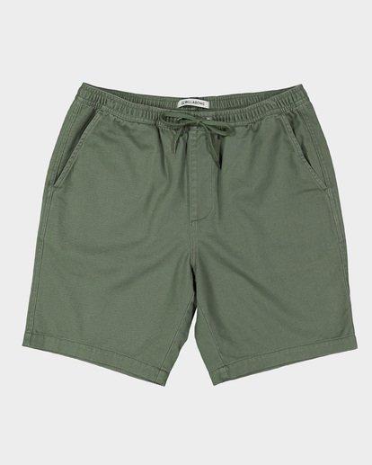 0 Larry Layback Twill Shorts Green 9592733 Billabong