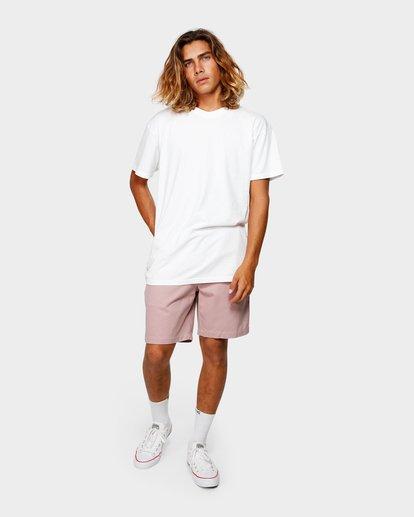 11 Larry Layback Twill Elastic Walkshorts Pink 9592733 Billabong