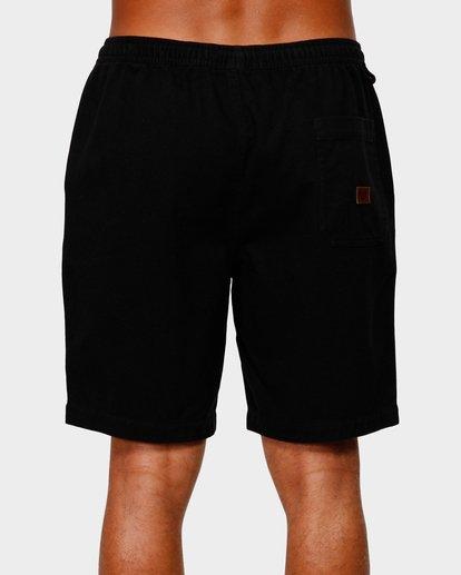 4 Larry Layback Twill Shorts Black 9592733 Billabong
