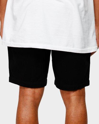 7 Larry Layback Twill Shorts Black 9592733 Billabong