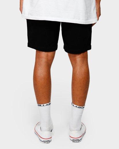 10 Larry Layback Twill Shorts Black 9592733 Billabong