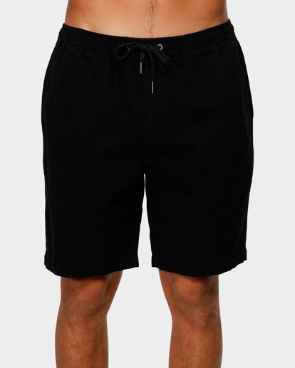 2 Larry Layback Twill Shorts Black 9592733 Billabong