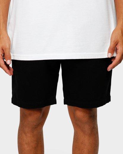 5 Larry Layback Twill Shorts Black 9592733 Billabong