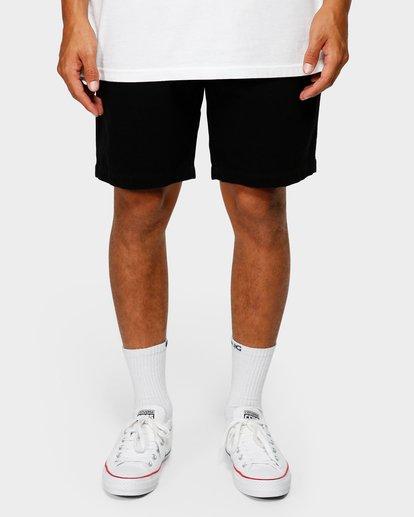 8 Larry Layback Twill Shorts Black 9592733 Billabong